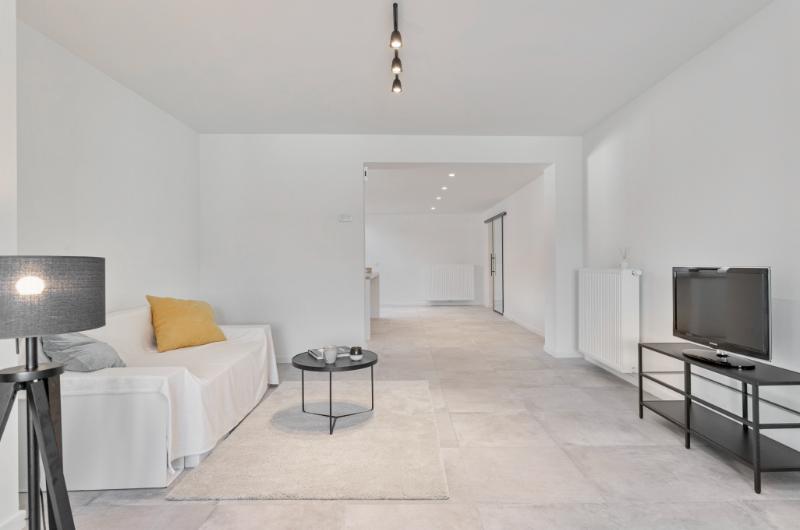 Uitzonderlijk triplex appartement met ruime garage