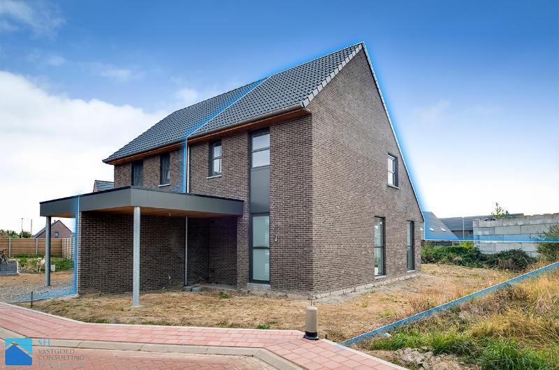 Nieuwbouwwoning met mogelijkheid tot klein beschrijf (5%)!!!